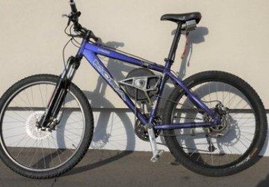 Fast Electric Mountain Bike