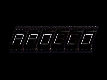 NASA Apollo / Saturn V Clock / Countdown Display