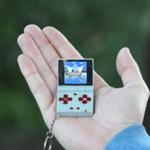 FunKey project - All your games on your keychain !
