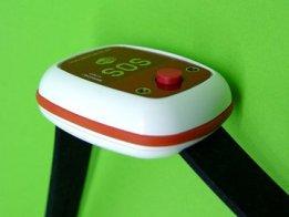 WIFI BLE ESP32 panic SOS wrist button