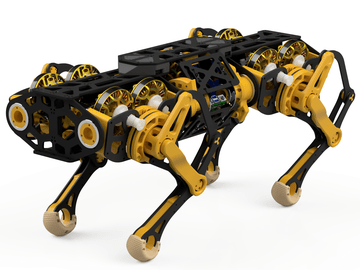 Stanley - the capstan based quadruped
