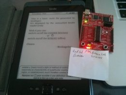 Kindle as a home automation controller/sensor