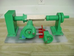 3D printed manual mini Lathe
