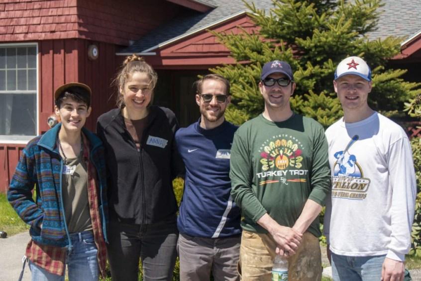 the hall team at libby river farm