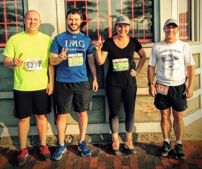 Hall Old Port Running Team