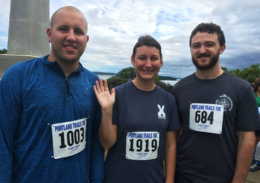 Hall staff who participated in Trail To Ale Race