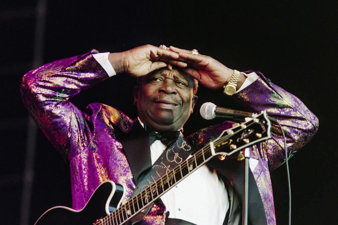 Blues Legende B B King Ist Tot