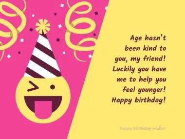 Funny Birthday Wishes For Best Friend Happy Birthday Wisher