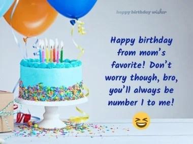 Best Funny Birthday Wishes For Elder Brother Happy Birthday Wisher