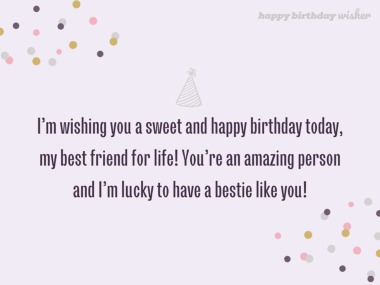 Long Birthday Messages For A Best Friend Happy Birthday Wisher