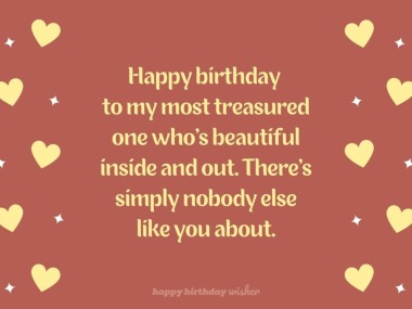 Happy Birthday To The Most Important Person In My Life Happy Birthday Wisher