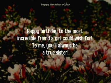 Happy Birthday Sister From Another Mother Happy Birthday Wisher