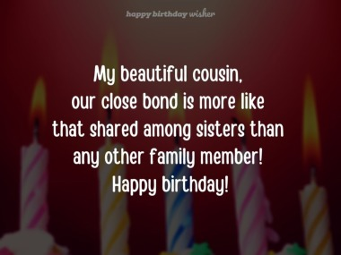 Happy Birthday Girl Cousin Birthday Wishes For Cousin Sister Happy Birthday Wisher