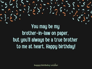Birthday Wishes For Brother In Law Happy Birthday Wisher