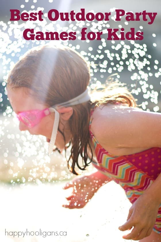 Best Outdoor Party Games for Kids of All Ages - Happy Hooligans