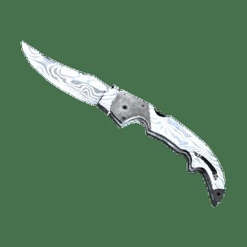 ★ Falchion Knife - Damascus Steel