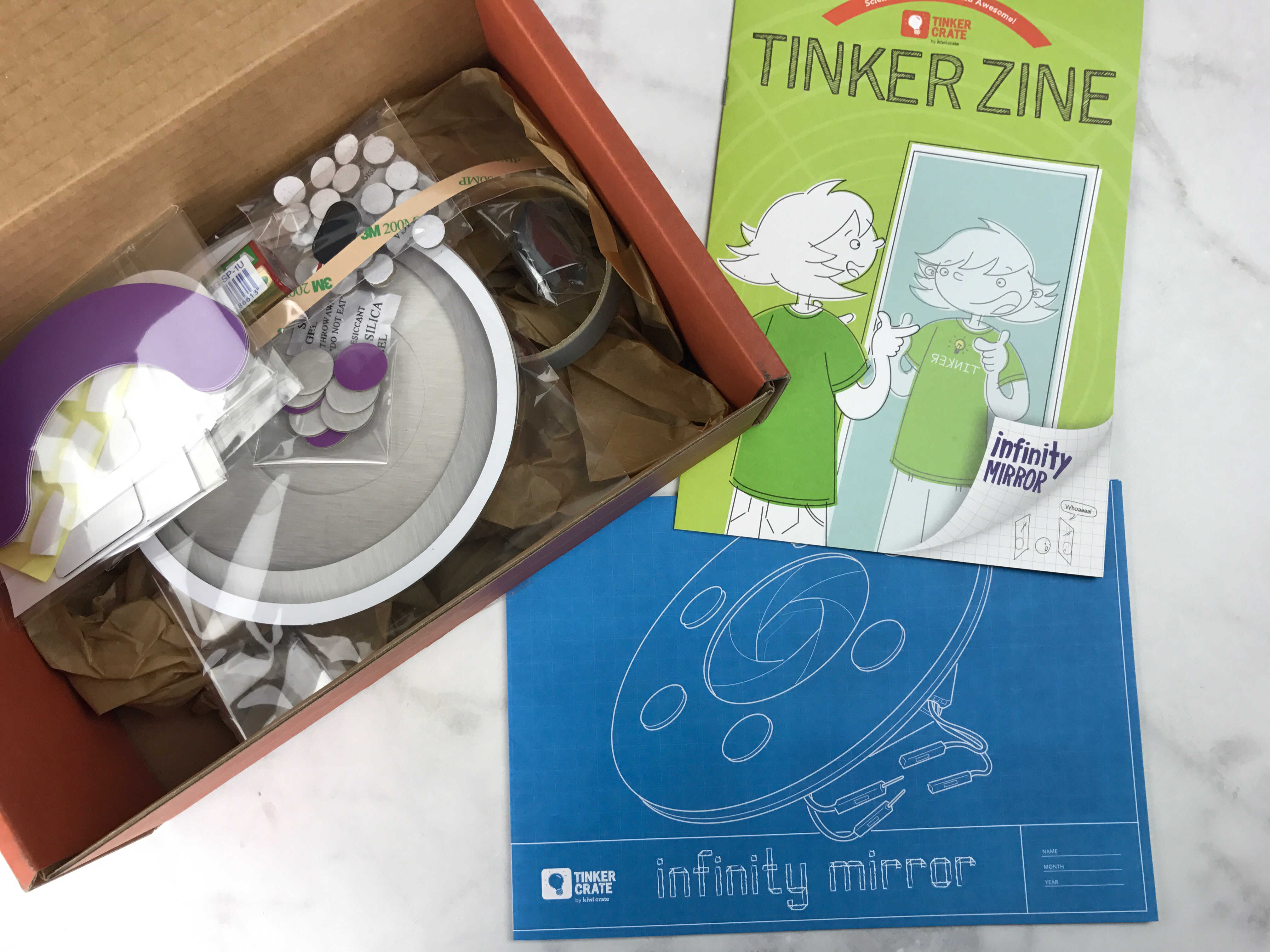 Tinker Crate January 2017 Review Amp Coupon INFINITY