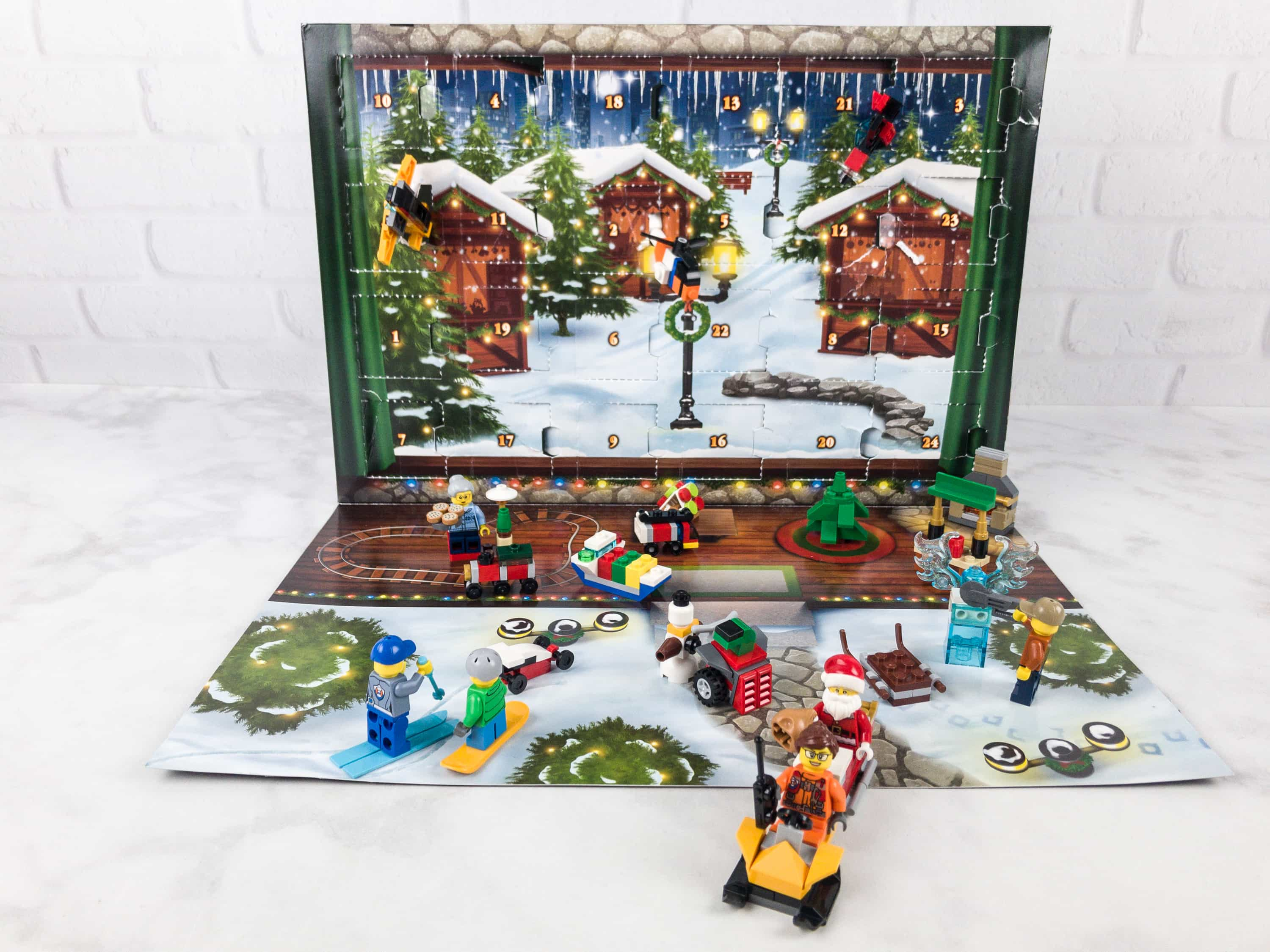 Lego City Advent Calendar 2017 Mini Review   hello subscription