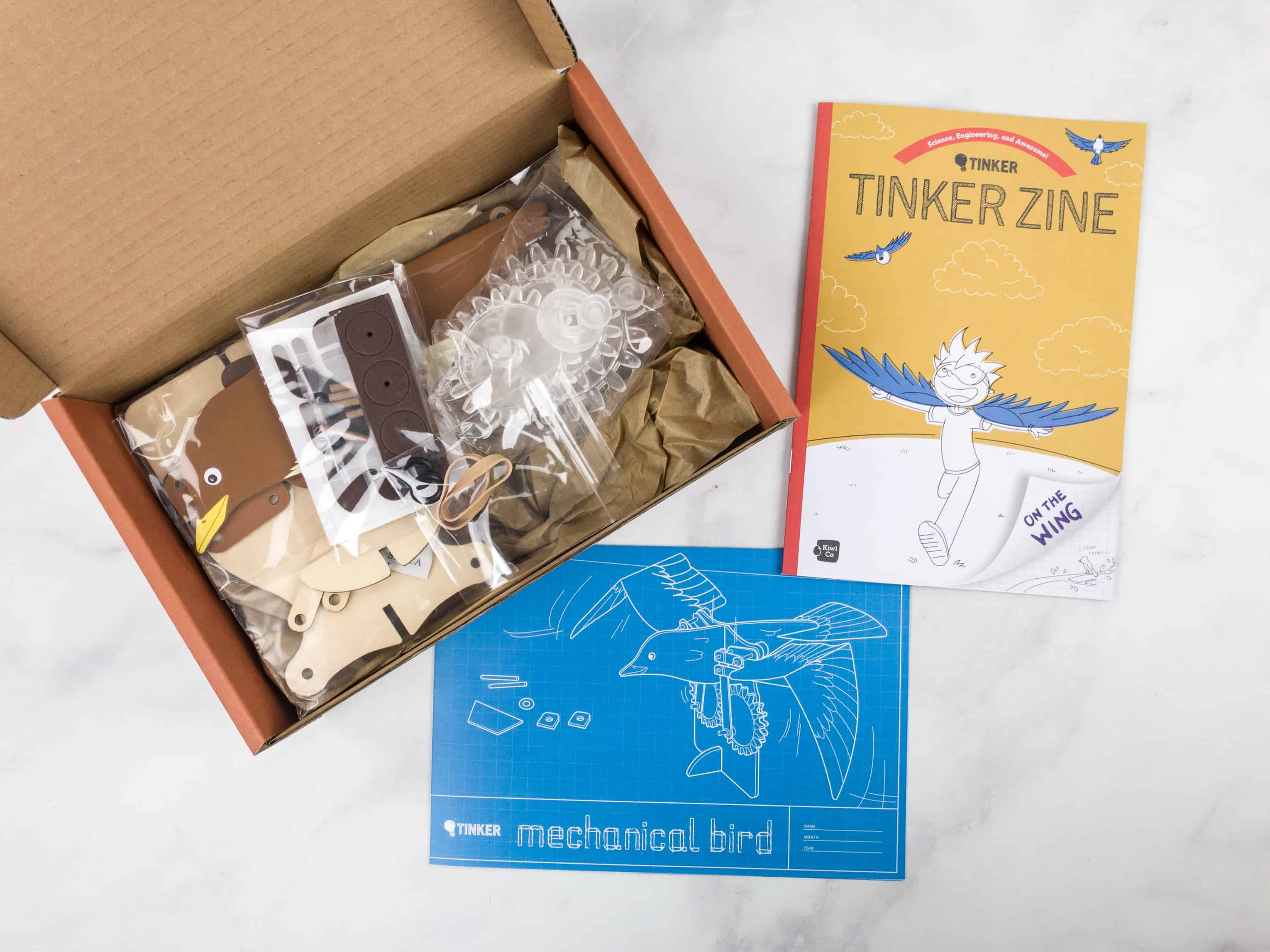 Tinker Crate Review Amp Coupon MECHANICAL BIRD Hello