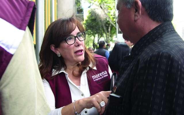 APOYO. Polevsnky defendió la postura asumida por la cancillería mexicana respecto a Venezuela. Foto:  CUARTOSCURO