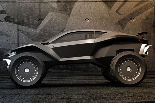 Sidewinder Dune Buggy By Gray Design