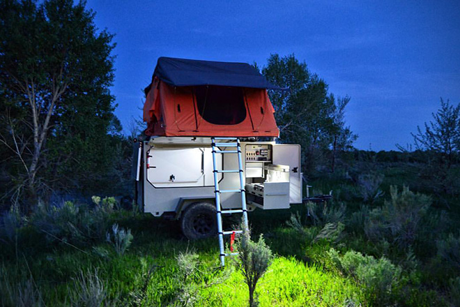 Base Camp Off Road Trailer HiConsumption