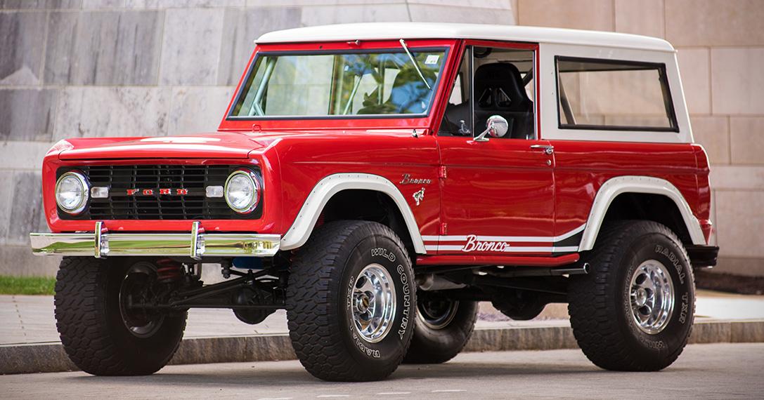 Auction Block Restored 1966 Ford Bronco 4x4 HiConsumption