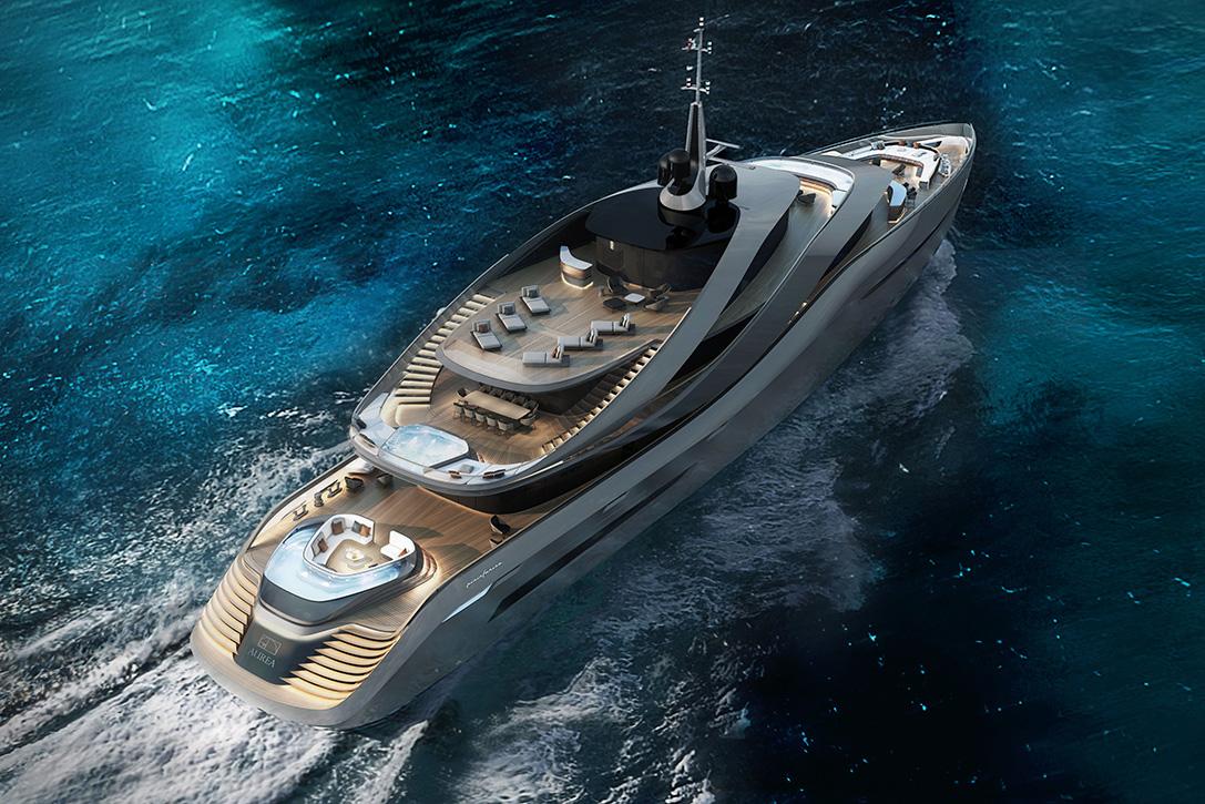 Pininfarina Aurea Superyacht HiConsumption