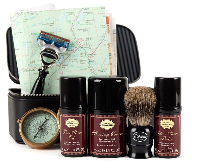 HighTechDad #LogiSmiles Father's Day Giveaway - Art of Shaving kit