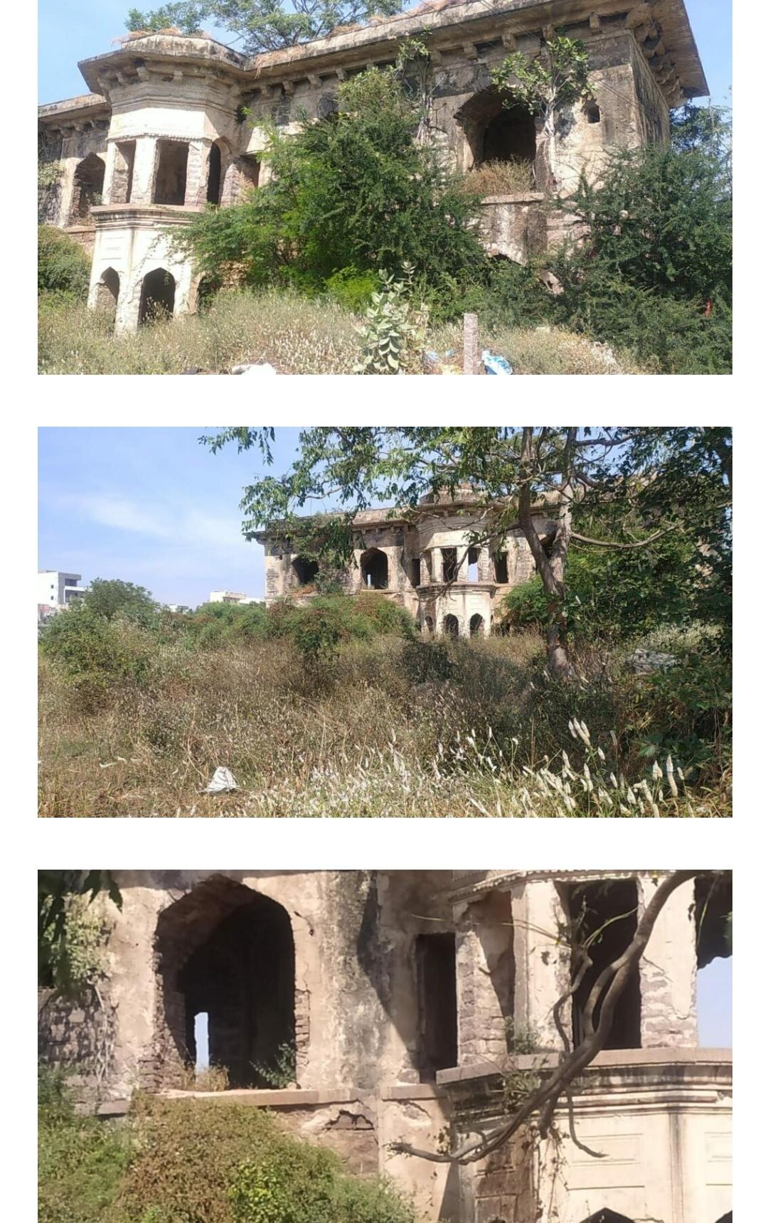 हैदराबाद के 300 वर्षीय मुशाल महल को तत्काल ध्यान देने की आवश्यकता है! 1