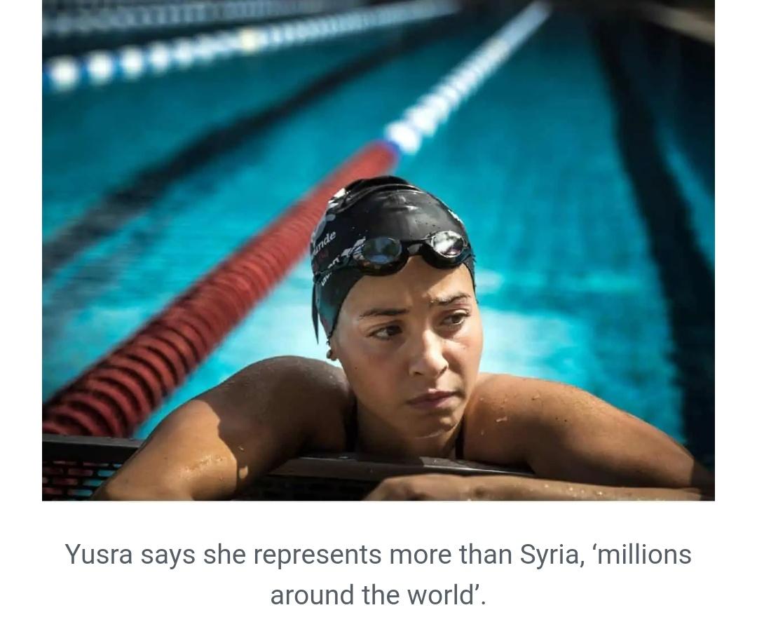 सीरियाई युद्ध से बचने से लेकर ओलंपिक में प्रतिनिधित्व करने तक; युसरा मर्दिनी की आशा की कहानी 1