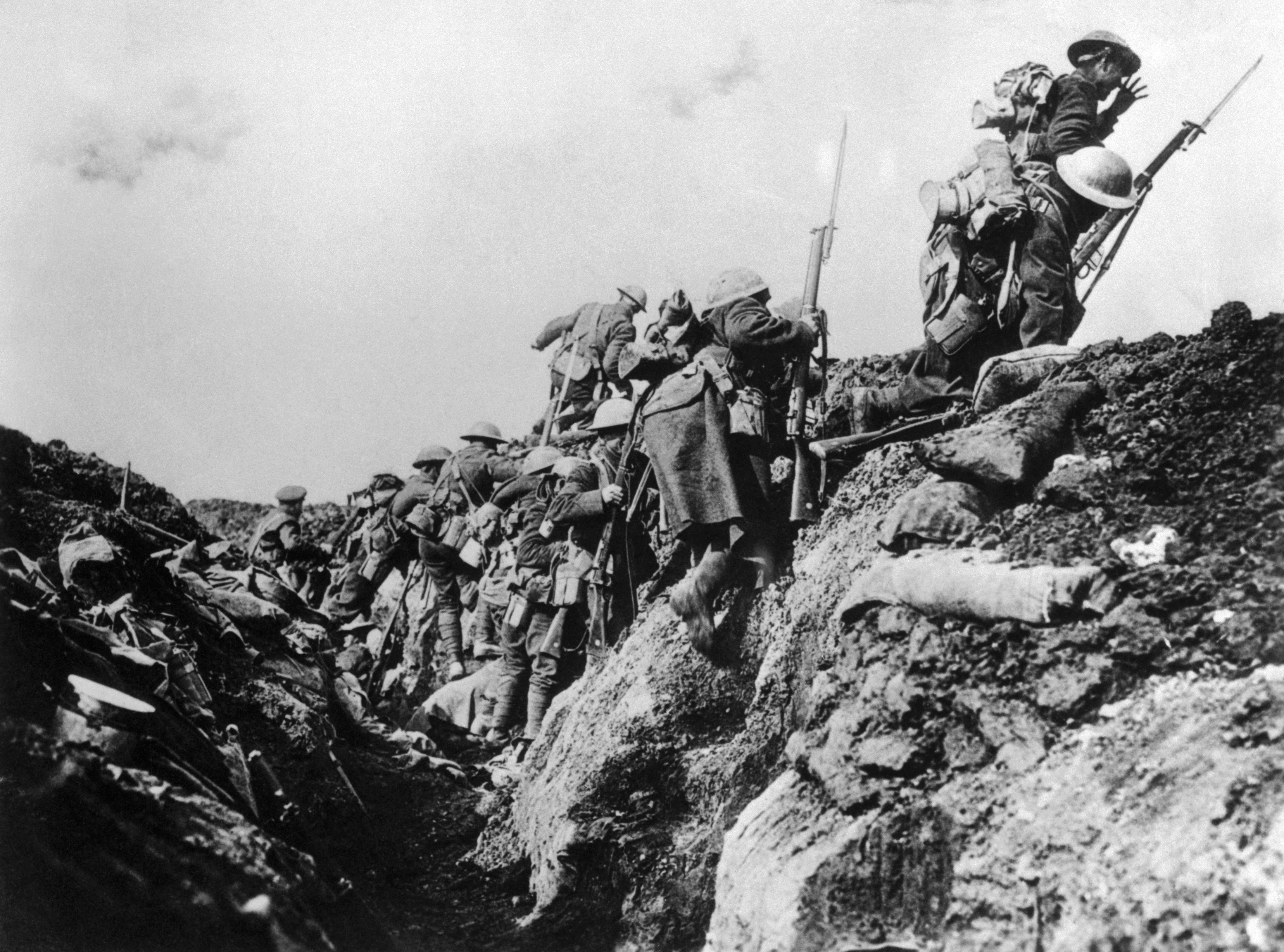 World War I Trench Warfare Pictures