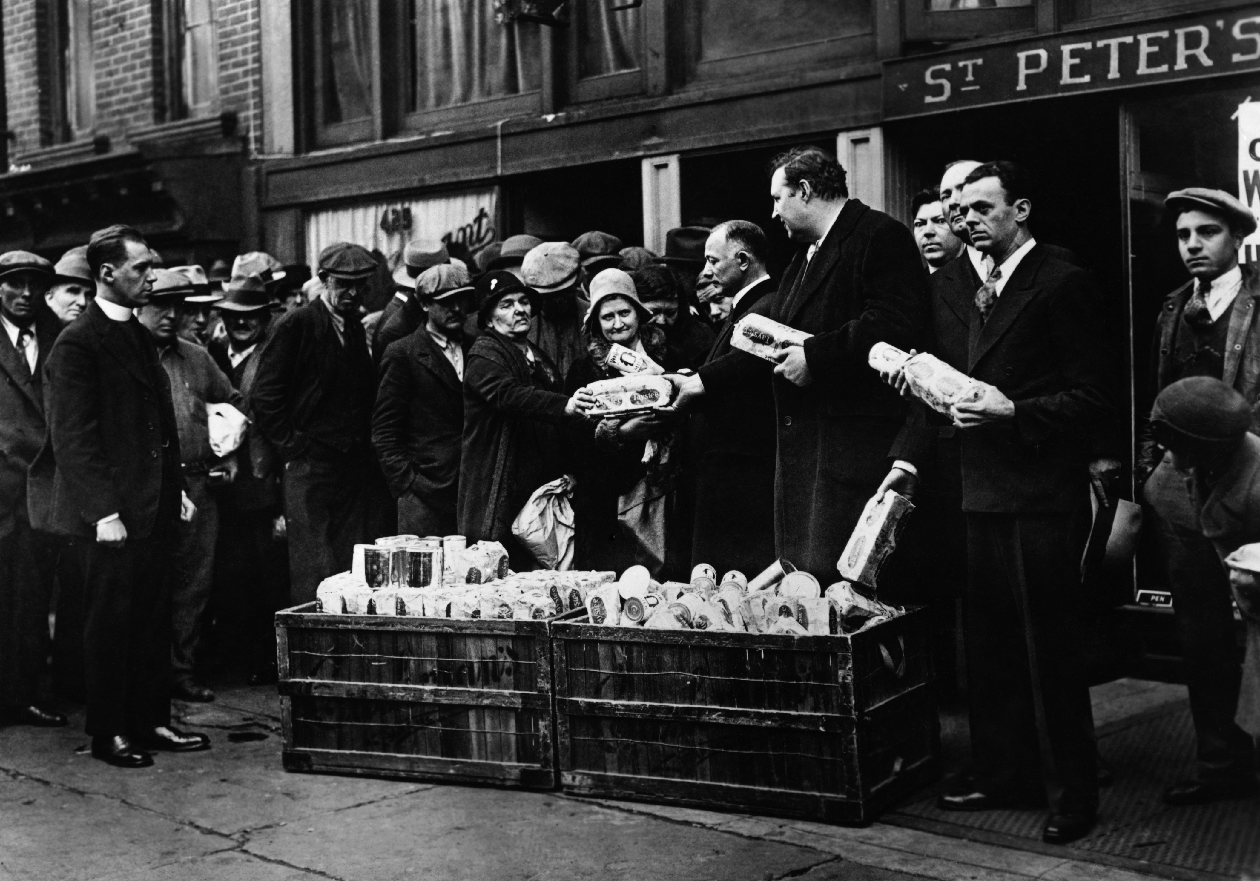 Soup Kitchens And Breadlines Pictures Great Depression