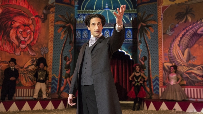 About Houdini, Adrien Brody