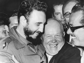 fidel casto, nikita khrushchev, united nations