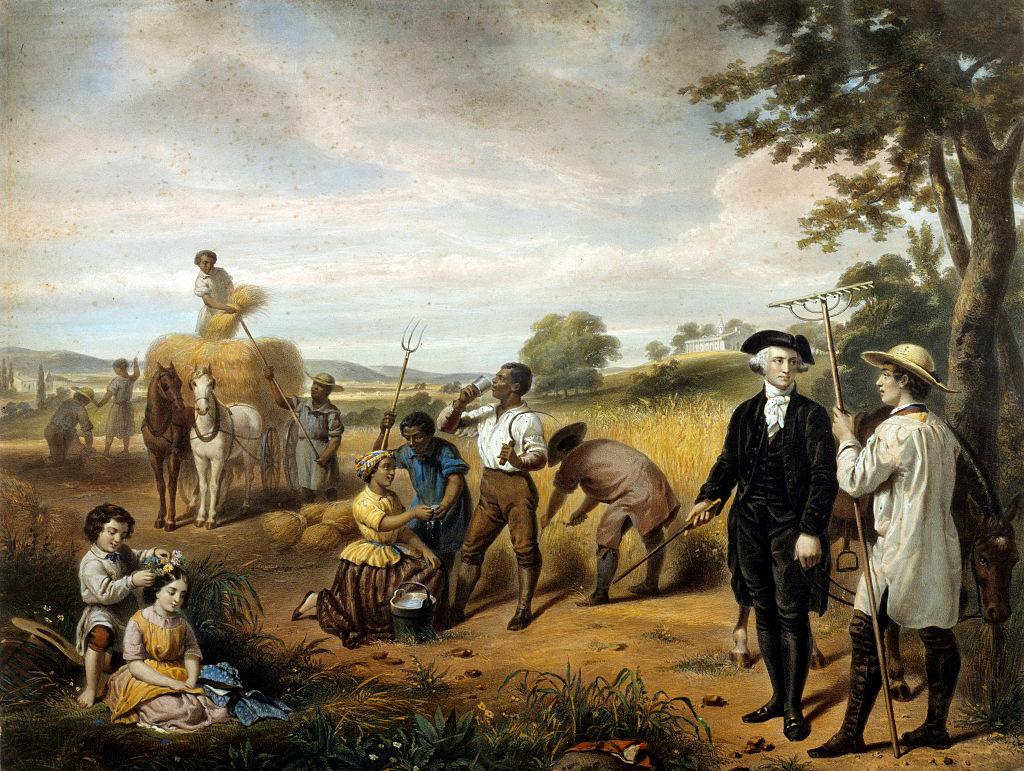 Image result for George Washington  slave owner images