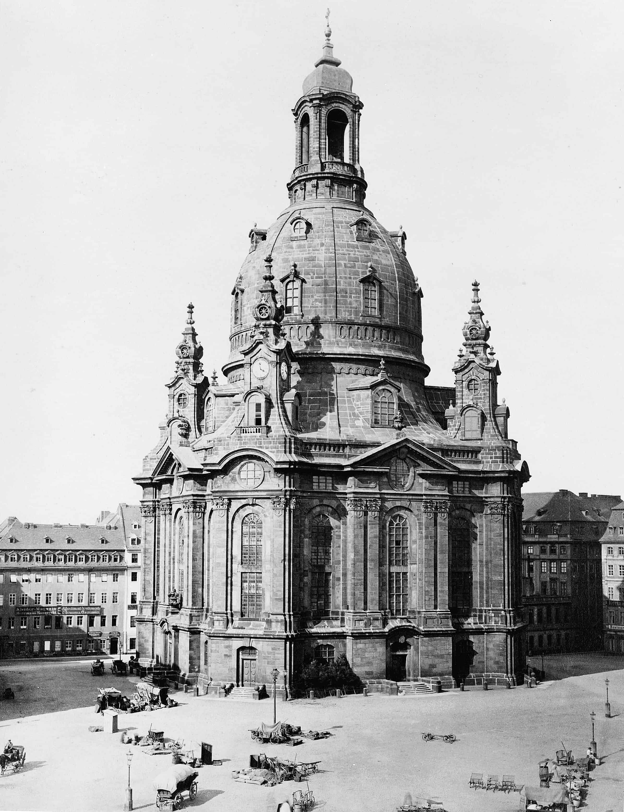Moving Images Of Dresden Germany Before And After Allied