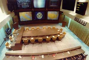 The National Miilitary Command Center, inside the Pentagon