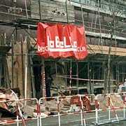 The La Belle discotheque after the bombing.