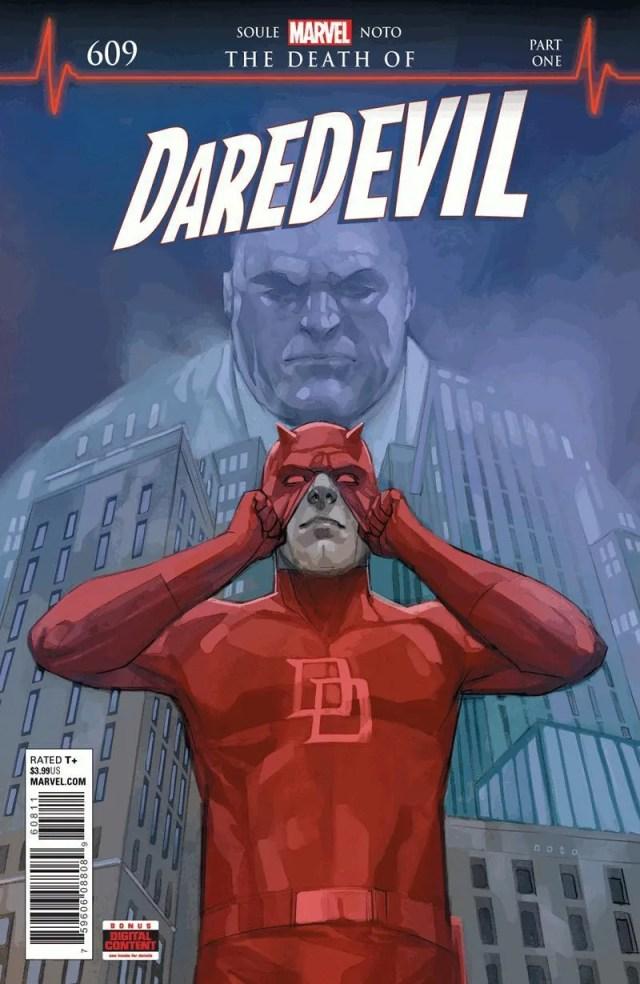 The Death of Daredevil - cómic