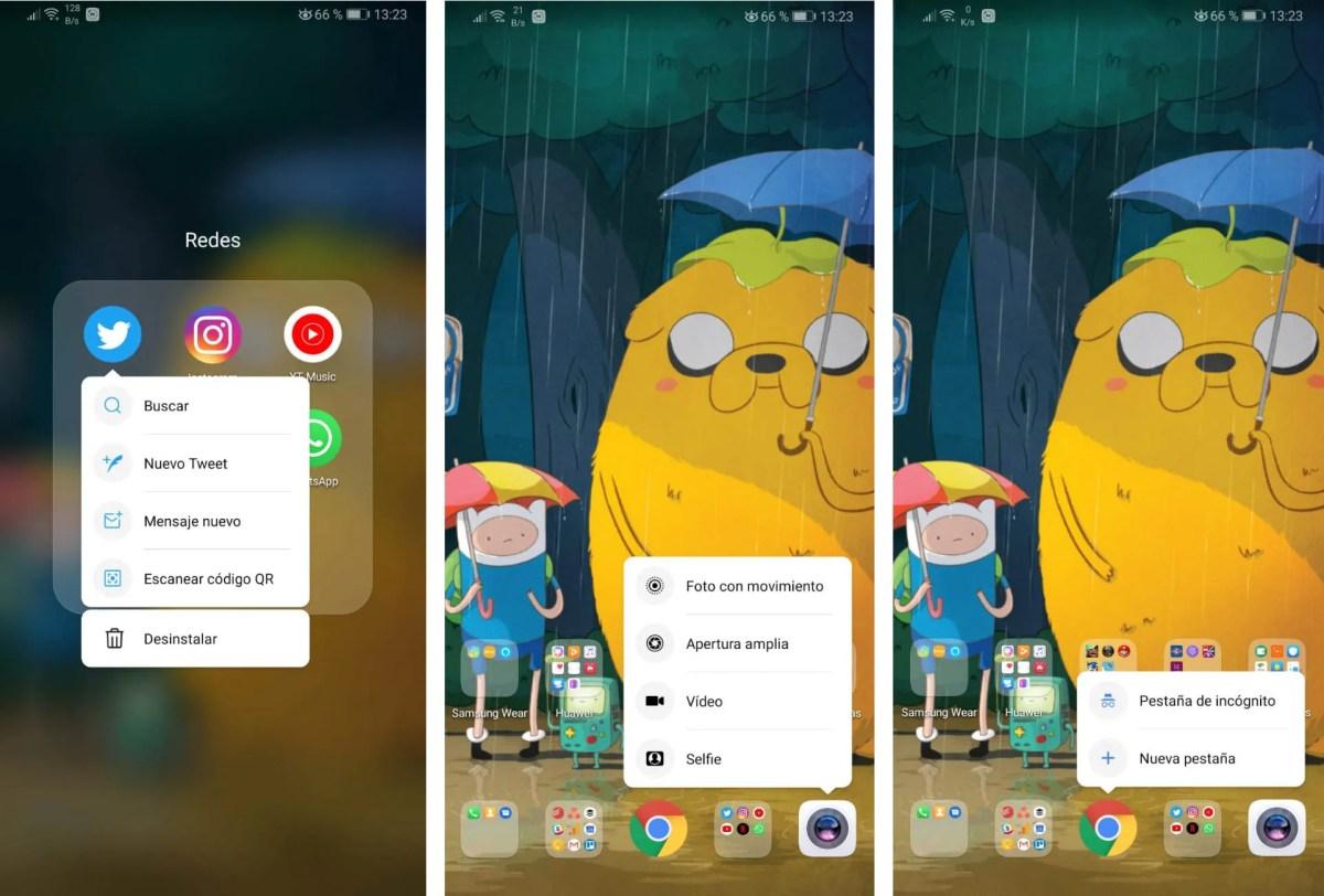 Gestos de Android