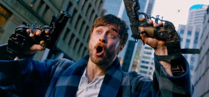 Crítica de Guns Akimbo, la loquísima comedia negra de Daniel Radcliffe - HobbyConsolas Entretenimiento