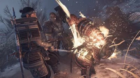 Ghost of Tsushima at 4K and 60 FPS. This is how it might look on PS5