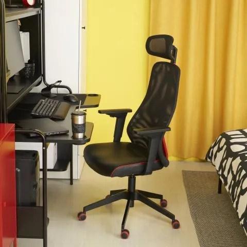 So sehen die ersten IKEA Gaming-Möbel aus, die zusammen mit ROG hergestellt wurden: Stühle, Schreibtische und vieles mehr