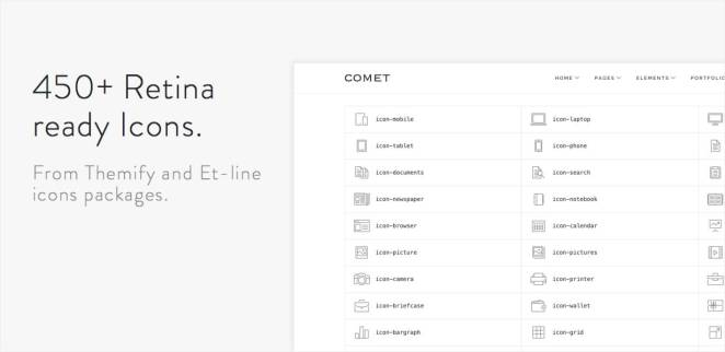 Comet - Creative Multi-Purpose WordPress Theme - 13
