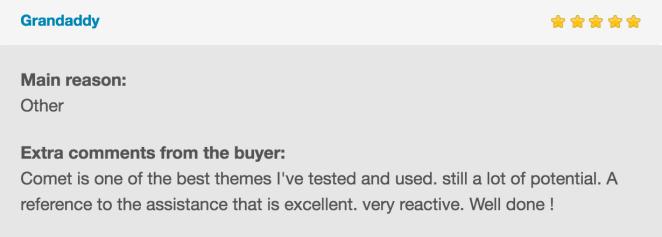 Comet - Creative Multi-Purpose WordPress Theme - 18
