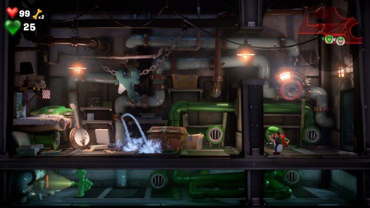 Red Gem Location Storage Room 750x422 - Luigi's Mansion 3 - Guida: come trovare tutte le gemme dei piani B2 e B1