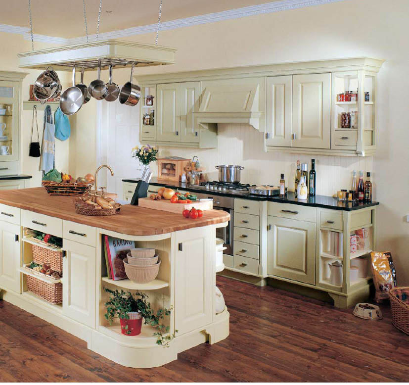 Country Style Kitchen Units