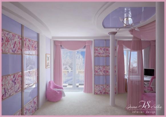 Habitación para chica Ver 3 por silka Irina