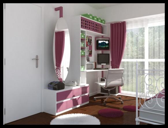 Dormitorio adolescente de Arquitectura Digital